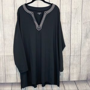 Lands'end Tunic Top Size 2x